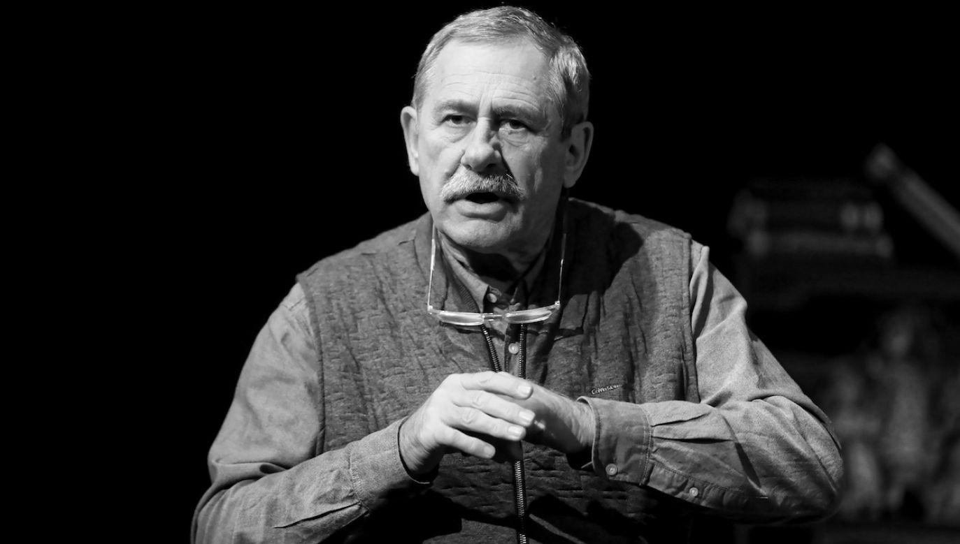 W czerwcu aktor poinformował, że choruje na nieoperacyjnego raka płuc i oskrzeli (fot. arch.PAP/Rafał Guz)