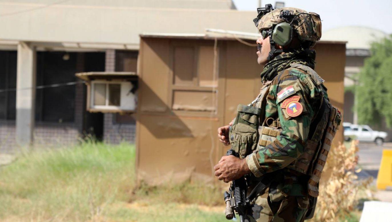 Irackie służby zwalczają islamistów (fot. PAP/EPA/AHMED JALIL)