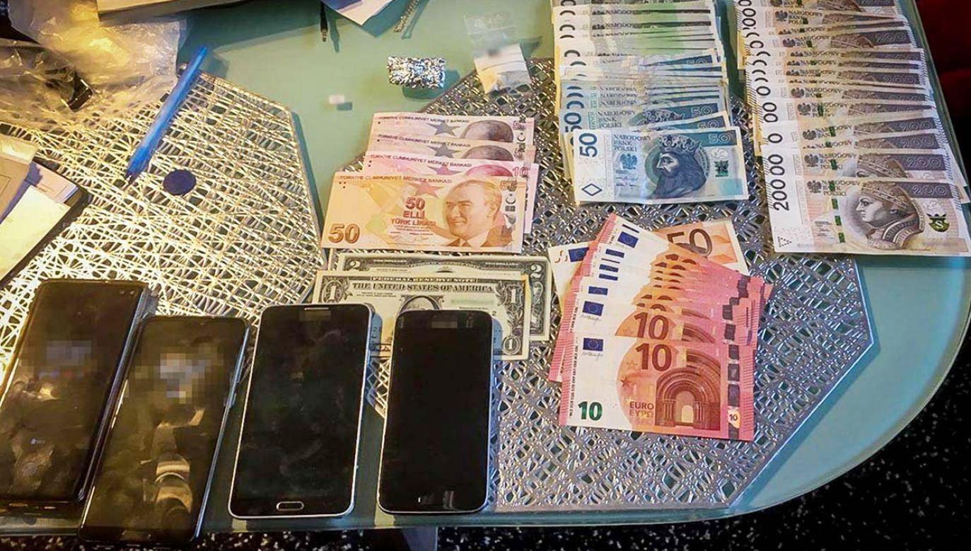 Gang działał w ostatnich miesiącach głównie w Warszawie (fot. CBSP)