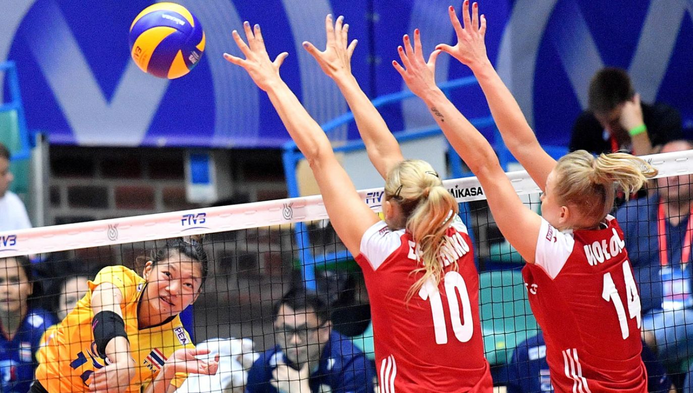 Polskie siatkarki pokonały Tajlandię 3:2  (fot. PAP/Jan Karwowski)