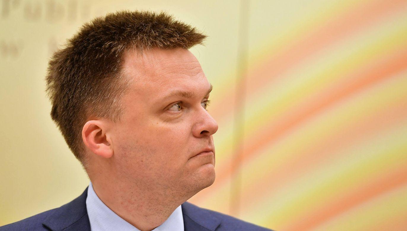 Krzysztof Karnkowski komentuje m.in. kampanię Szymona Hołowni (fot. arch. PAP/Piotr Polak)