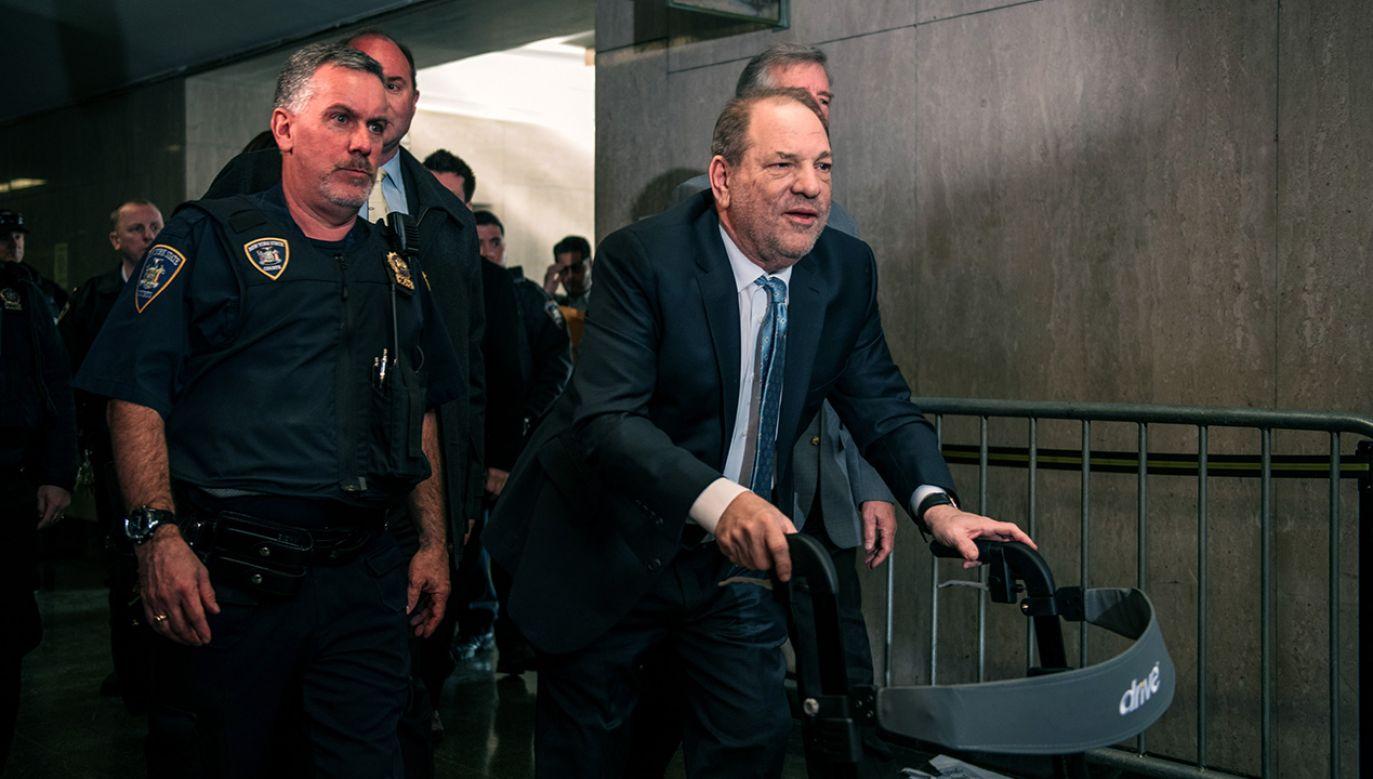 Harvey Weinstein usłyszał pięć zarzutów (fot. Scott Heins/Getty Images)