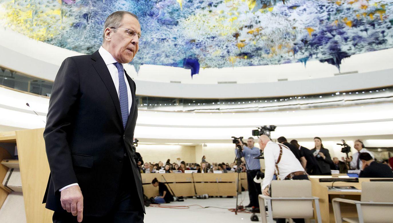 MSZ Federacji Rosyjskiej zabrało głos w sprawie inicjatywy Trójmorza (fot. PAP/EPA/SALVATORE DI NOLFI)