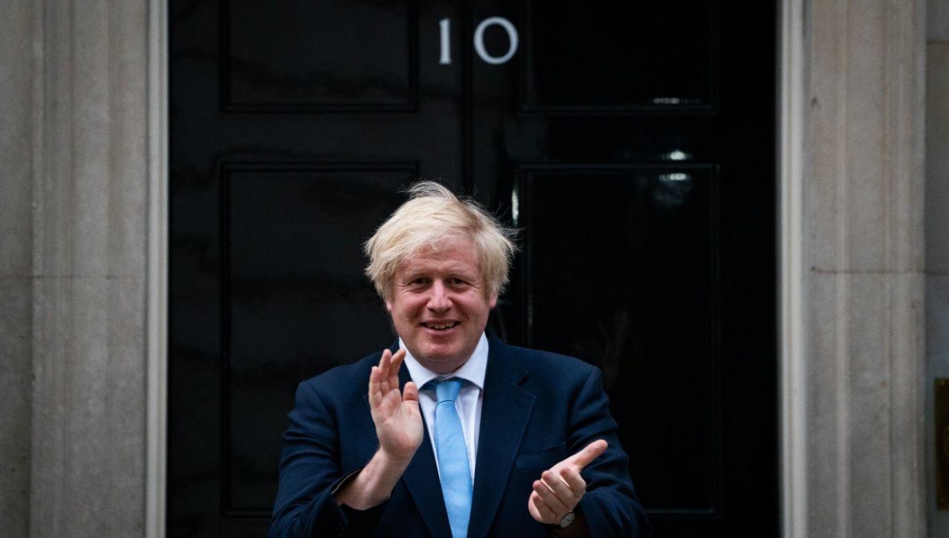 """Premier Boris Johnson w ramach """"Project Defense"""" ma zidentyfikować gałęzie gospodarki uzależnione od zagranicznych dostaw (fot. Aaron Chown/PA Images via Getty Images)"""