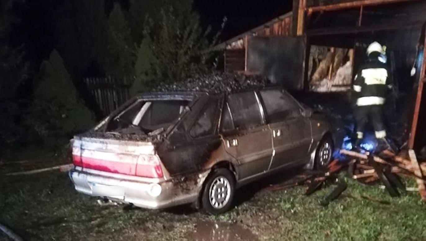Do zdarzenia doszło w miejscowości Ujsoły (fot. Policja śląska)
