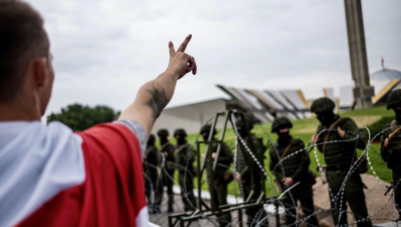 9 lat łagrów dla uczestnika prowyborczych demonstracji (fot. Getty Images)