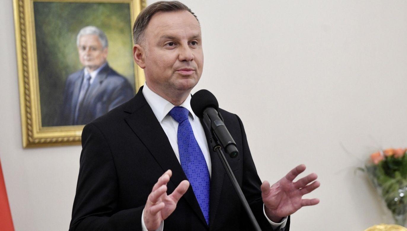Rzecznik rządu skomentował wyniki wyborów prezydenckich z 99,97 proc. obwodów (fot. PAP/Radek Pietruszka)