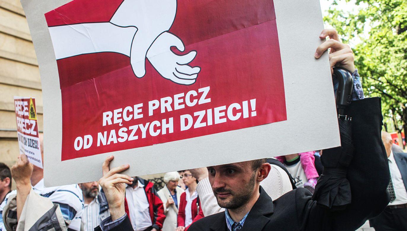 W obywatelskim projekcie nie ma mowy o edukacji seksualnej (fot. arch.PAP/Jakub Kamiński)
