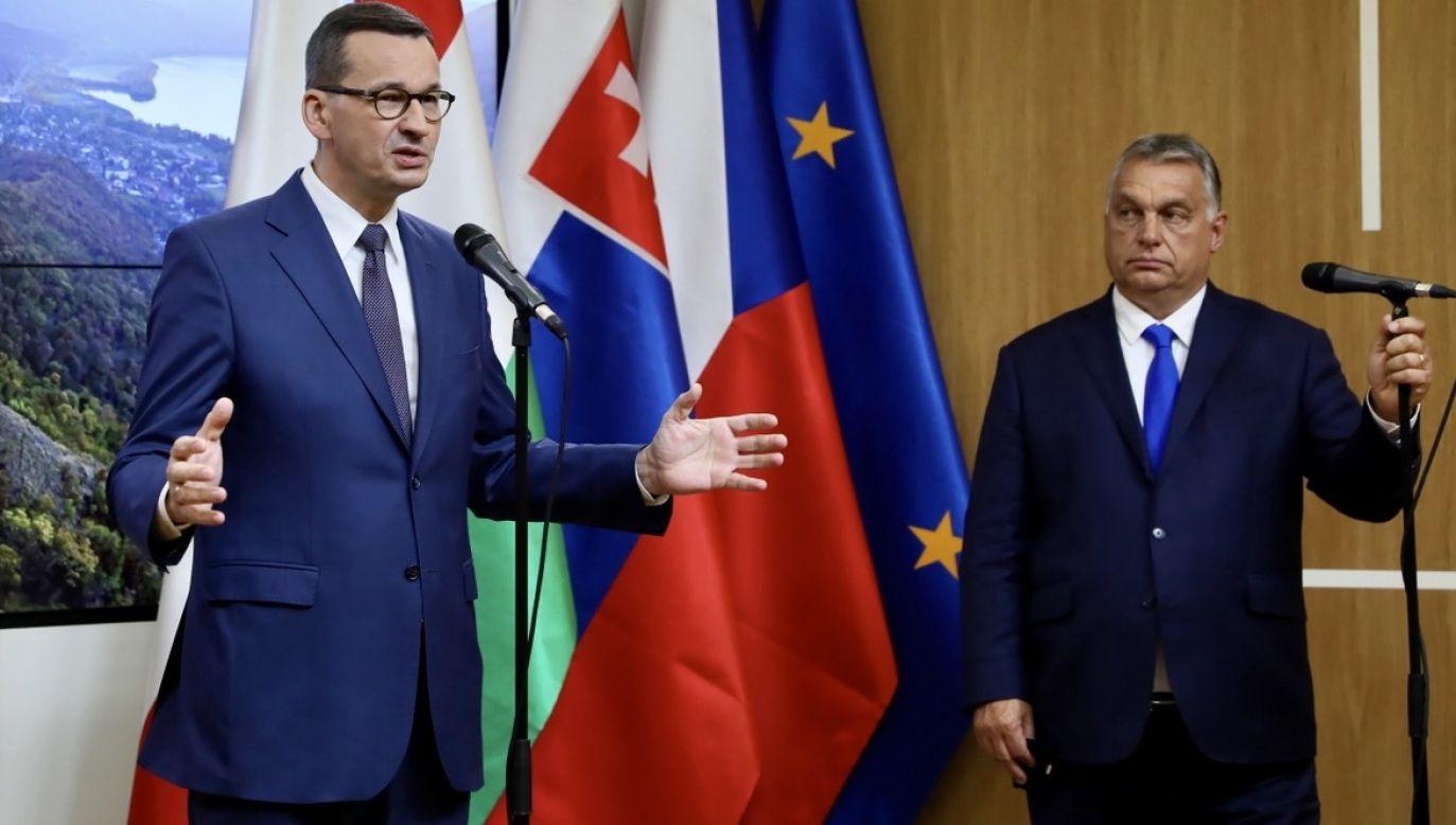 Instytut ma zapobiec stosowaniu podwójnych standardów m.in. wobec Polski i Węgier (fot. PAP/Leszek Szymański)