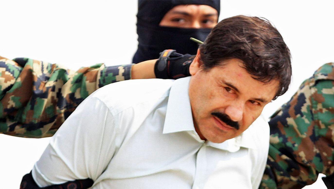 """Joaquin """"El Chapo"""" Guzman będzie należał do najpilniej strzeżonych więźniów (fot. PAP/EPA/MARIO GUZMAN)"""