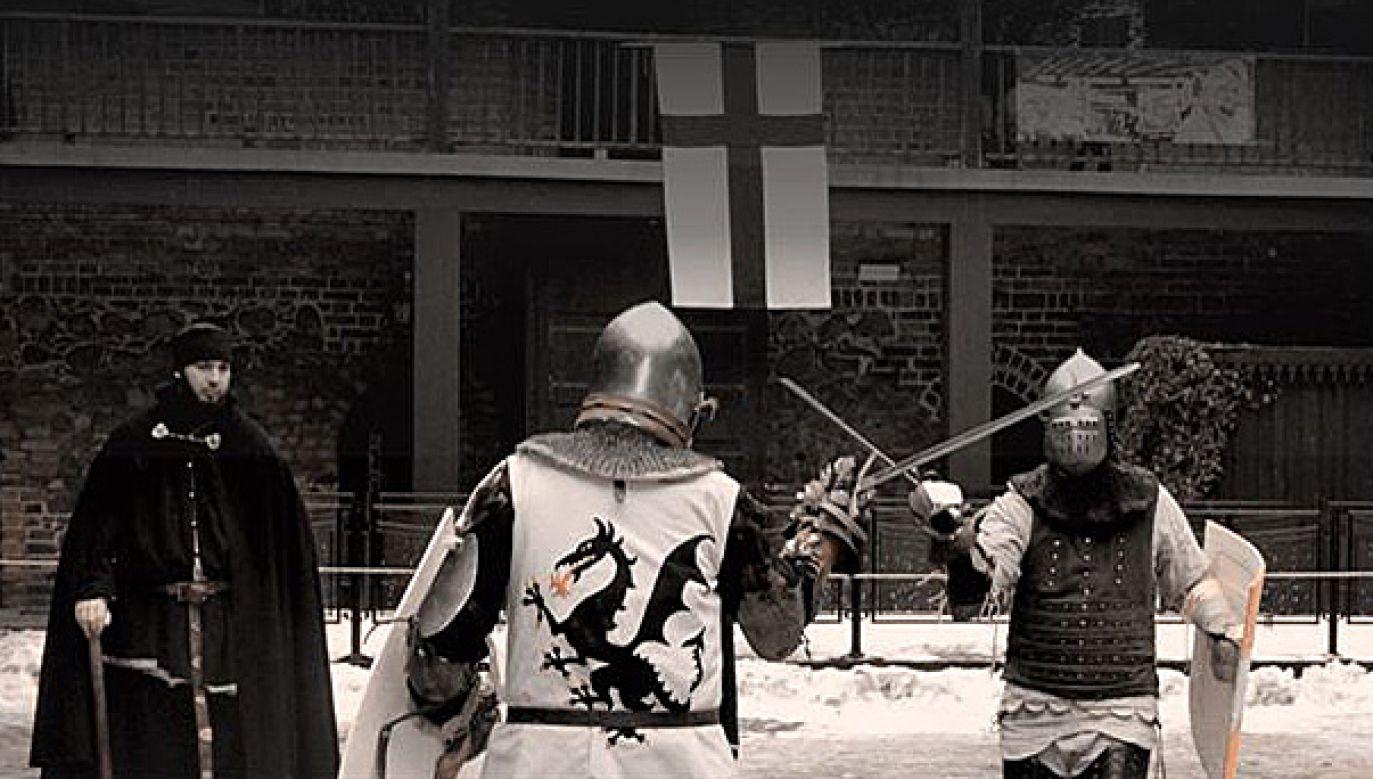 Muzeum Bitwy pod Grunwaldem jest organizatorem cyklu imprez rycerskich (fot. Facebook/Muzeum Bitwy pod Grunwaldem)