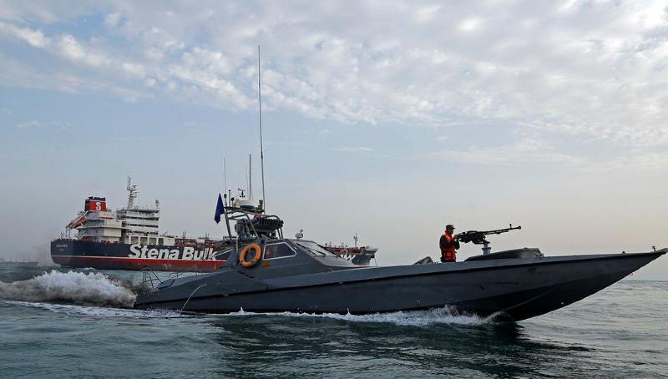 Szef irańskiego MSZ wyjaśniał, że pływający pod brytyjską banderą statek nie przestrzegał przepisów (fot.Reuters)