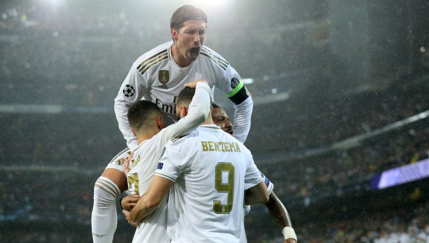 Sergio Ramos w trakcie meczu z PSG (fot. Getty)