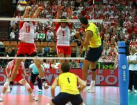 To już druga wygrana z Brazylią w tym roku (fot. Cezary Korycki SPORT.TVP.PL)