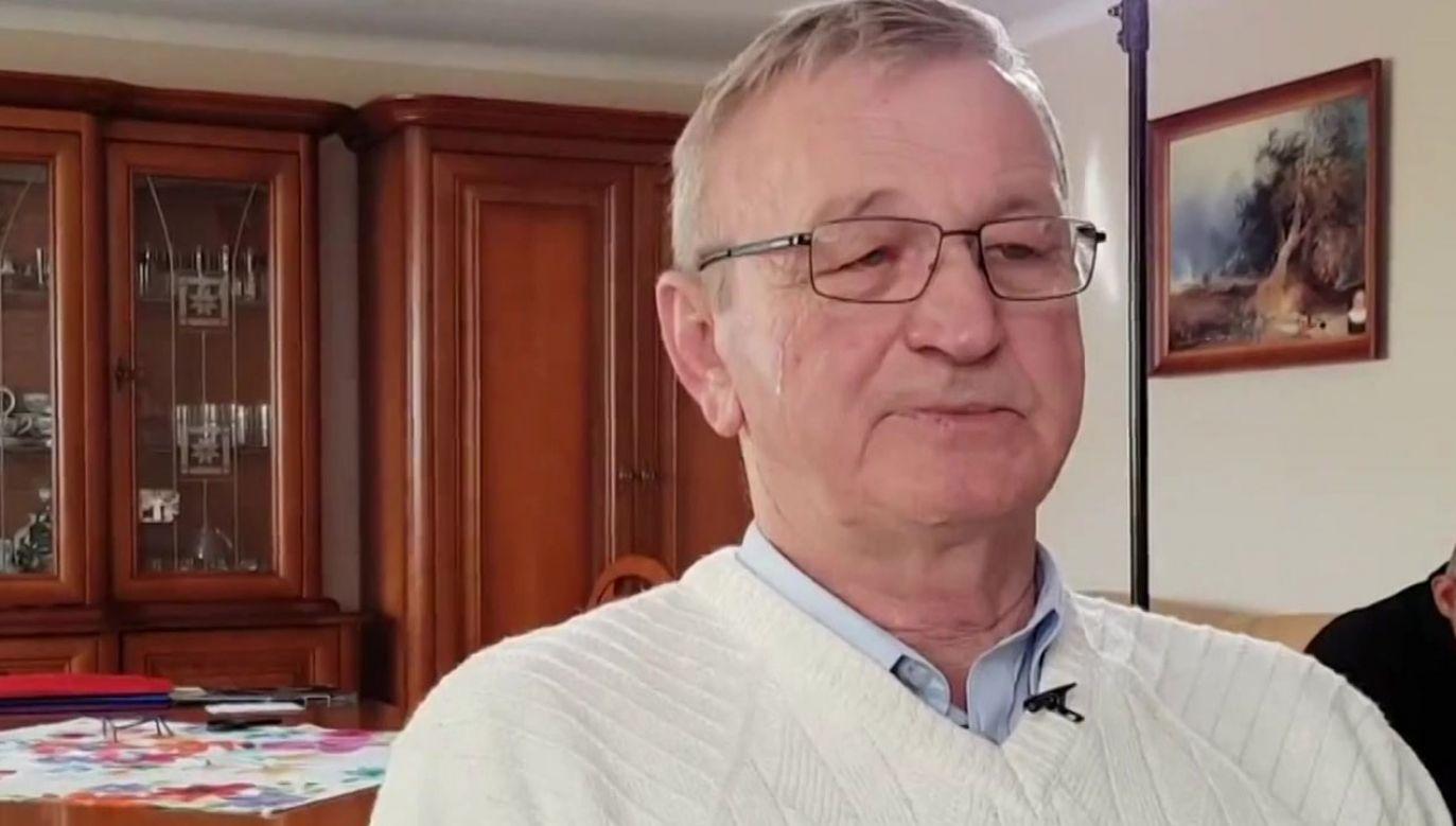 Zdesperowany mężczyzna zadzwonił do redakcji programu (fot. TVP)
