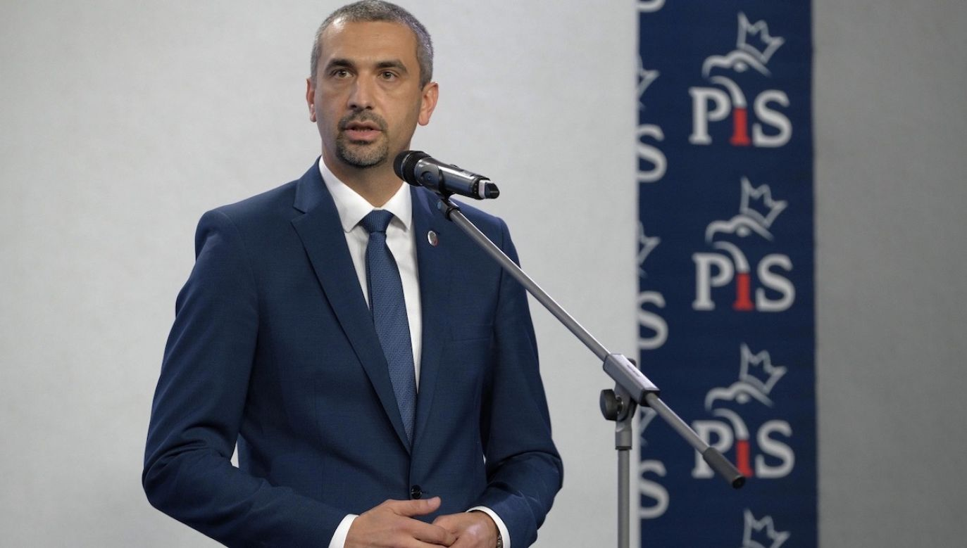 Wicemarszałek Senatu Marek Pęk (PiS) (fot. PAP/Mateusz Marek)