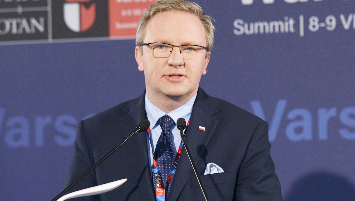 Sekretarz stanu w Kancelarii Prezydenta RP Andrzeja Dudy Krzysztof Szczerski (fot. arch.PAP/Jacek Turczyk)