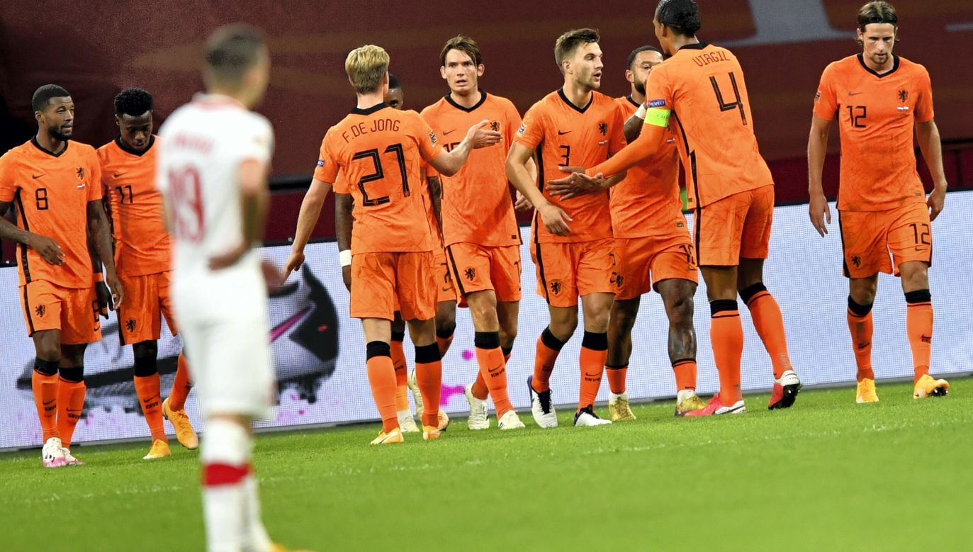 After a goal by Steven Bergwijn, Poland lost in Amsterdam against the Netherlands 0:1 on Friday. Photo: PAP/Piotr Nowak