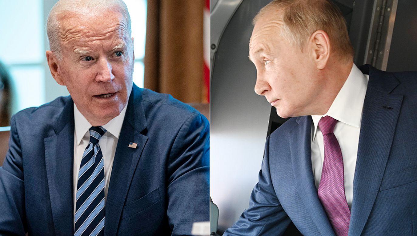 Joe Biden i Władimir Putin (fot. PAP/EPA)