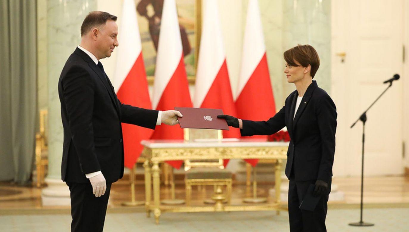 Emilewicz zastąpi na tym stanowisku Jarosława Gowina (fot. Krystian Maj/KPRM)