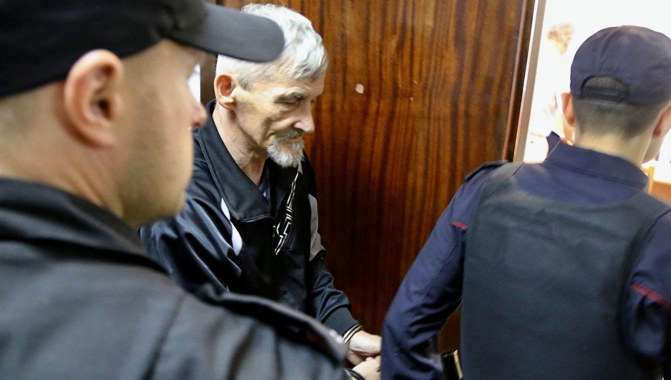 Sąd Najwyższy Karelii na północy Rosji drastycznie zaostrzył wyrok, wydany przez sąd niższej instancji, na historyka Jurija Dmitrijewa (fot. Reuters)