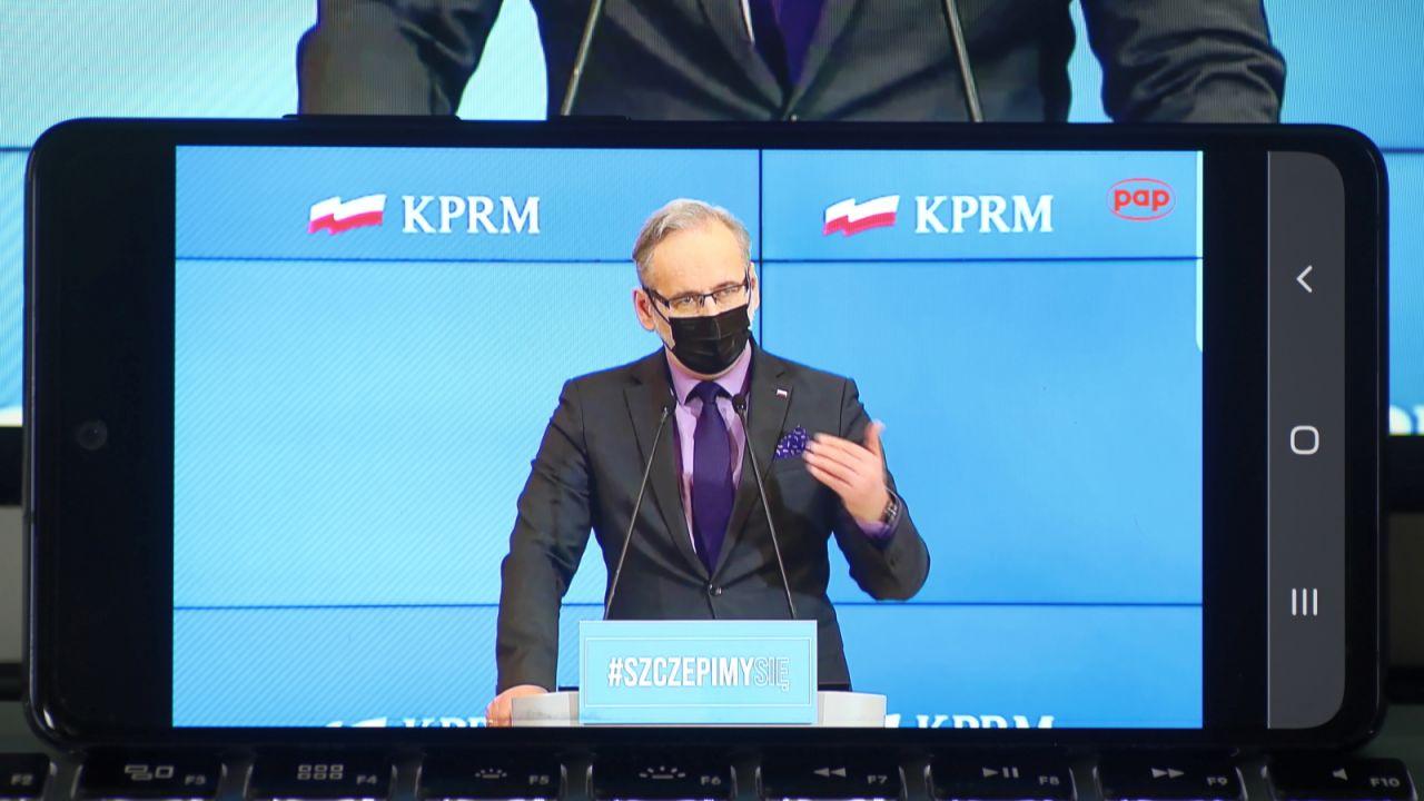 Minister zdrowia Adam Niedzielski (fot. PAP)