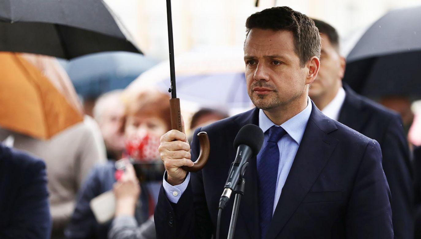 Prezydent Warszawy wystąpił w obronie majątku Marka M. – mówi Jan Śpiewak (fot.  PAP/Art Service)