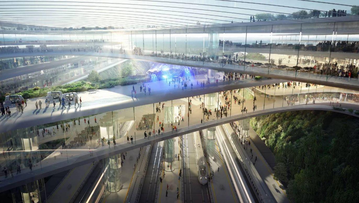 Nieruchomości pod budowę CPK zostaną wywłaszczone (fot. CPK)
