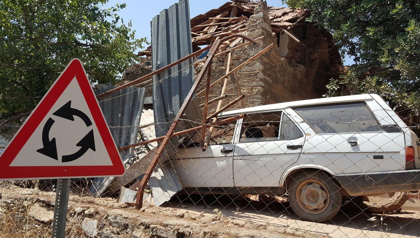 Trzęsienie ziemi o magnitudzie 6,9 nawiedziło w piątek wieczorem prowincję Elazig (zdjęcie ilustracyjne) (fot.  REUTERS/Kenan Gurbuz)