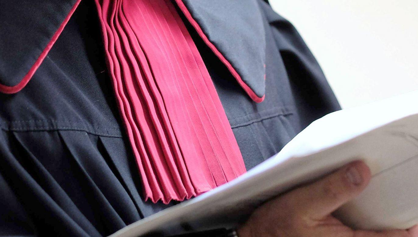 Poznański sąd rejonowy wydał wyrok w sprawie Josefa L. (fot. PAP/Andrzej Grygiel)