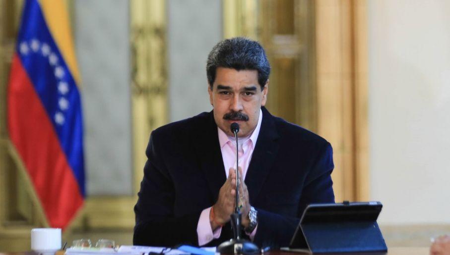 Nicolas Maduro ma stać na czele Kartelu Słońc (fot. PAP/EPA/JHONN ZERPA HANDOUT)