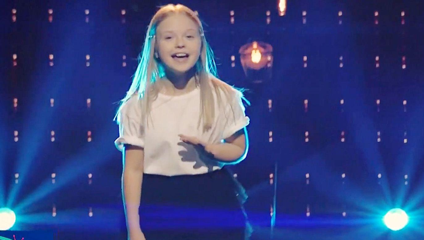 Ala Tracz reprezentuje Polskę w finale Eurowizji Junior 2020 (fot.TVP Info)