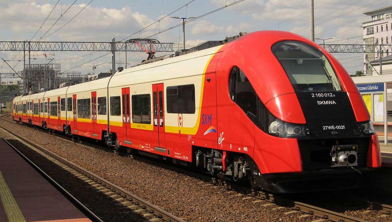 Warszawę czeka nowy przetarg na pociągi dla SKM (fot. TT/Grupa PFR)