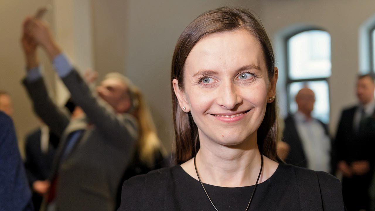Eurodeputowana Zielonych Sylwia Spurek (fot.  PAP/Jakub Kaczmarczyk)