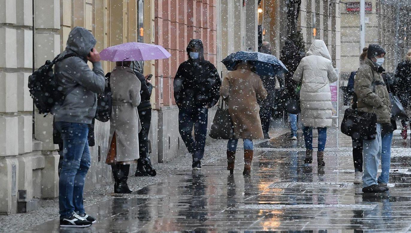 Prognoza pogody – czwartek 15 kwietnia 2021 (fot. PAP/Radek Pietruszka)