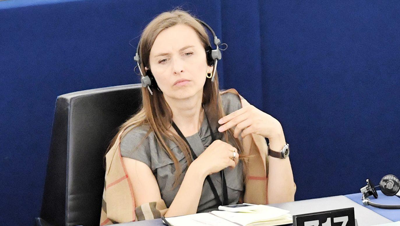 Eurodeputowana Sylwia Spurek postuluje, żeby Zieloni wyszli z KO (fot. PAP/Radek Pietruszka)