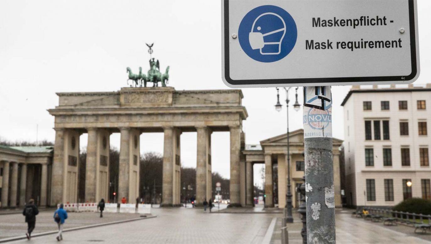 Niemcy zmagają się z pandemią (fot. PAP/EPA/HAYOUNG JEON)