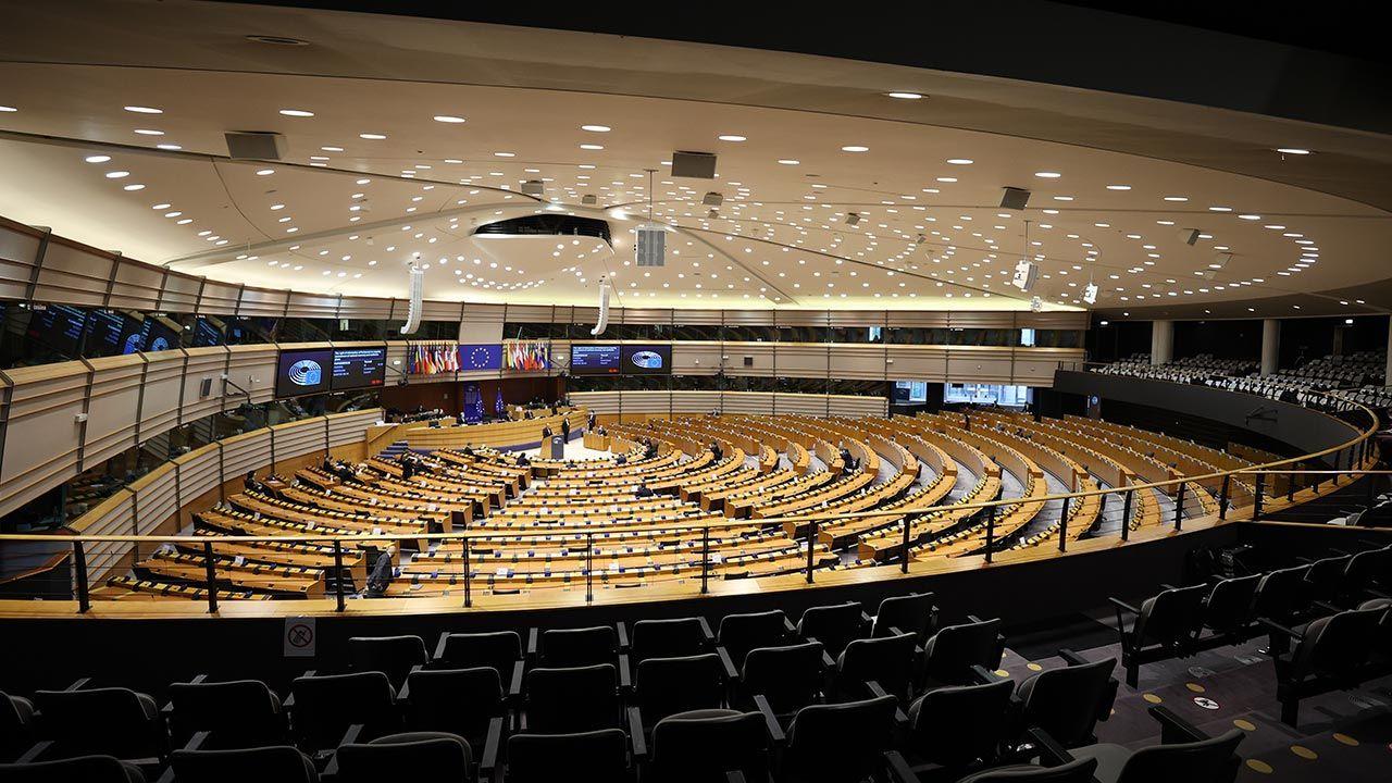 Głosowanie nad rezolucją w europarlamencie już w czwartek (fot. Dursun Aydemir/Anadolu Agency via Getty Images)