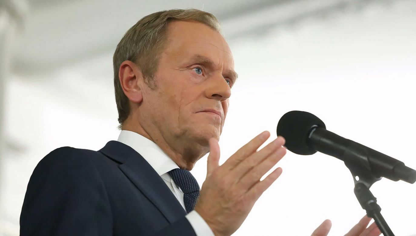 Mężydło wyjaśnił, dlaczego zagłosował za Tuskiem (fot. PAP/Tomasz Gzell)