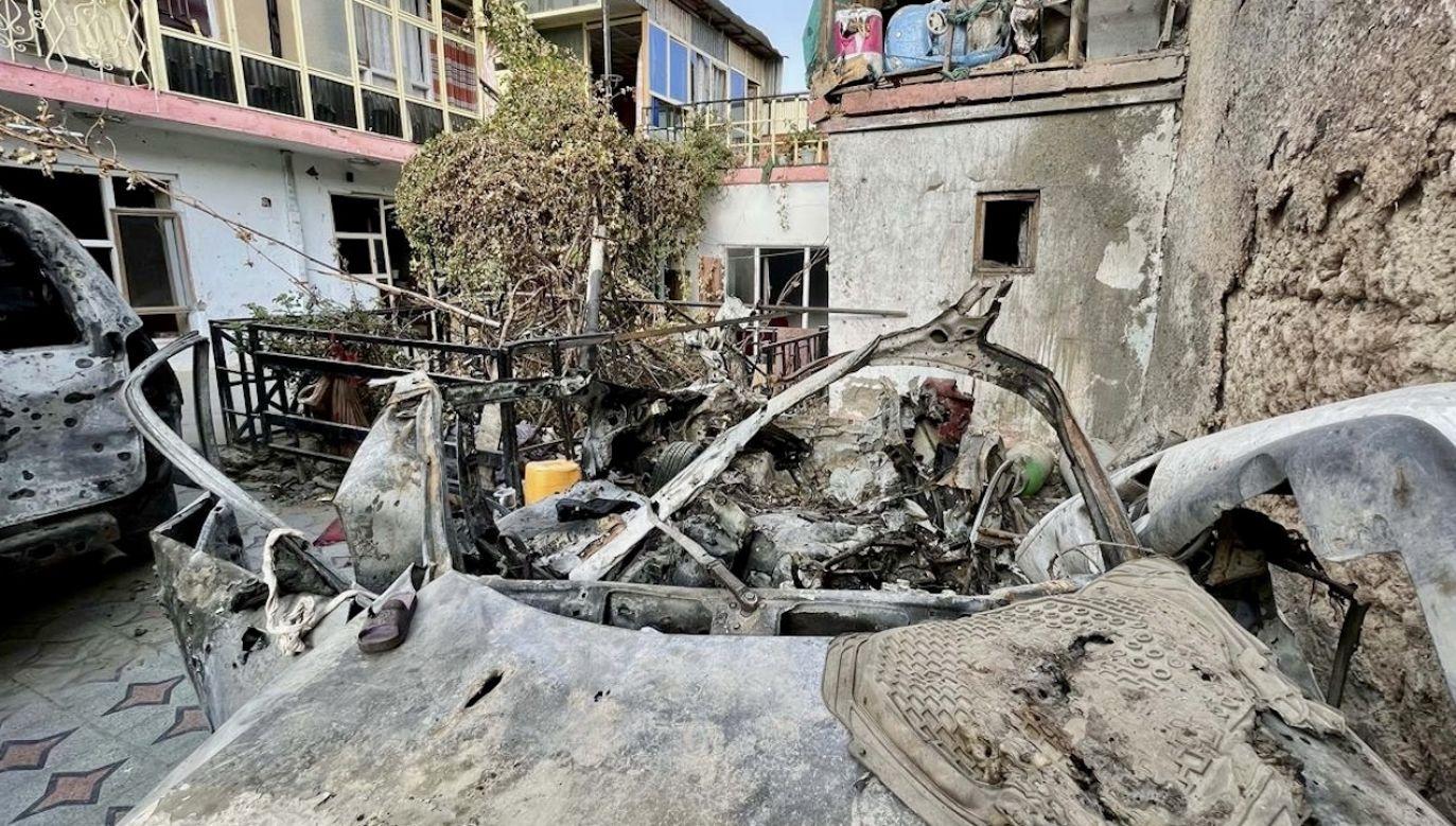 Atak USA w Afganistanie (fot. H.Sabawoon/Anadolu/Getty Images, zdjęcie ilustracyjne)