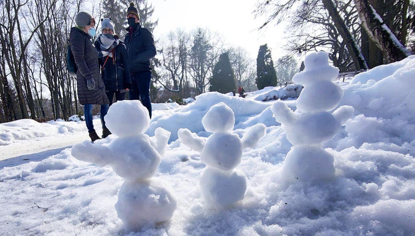 Prognoza pogody na poniedziałek i wtorek: 8 i 9 marca (fot. Forum/ Anatol Chomicz)