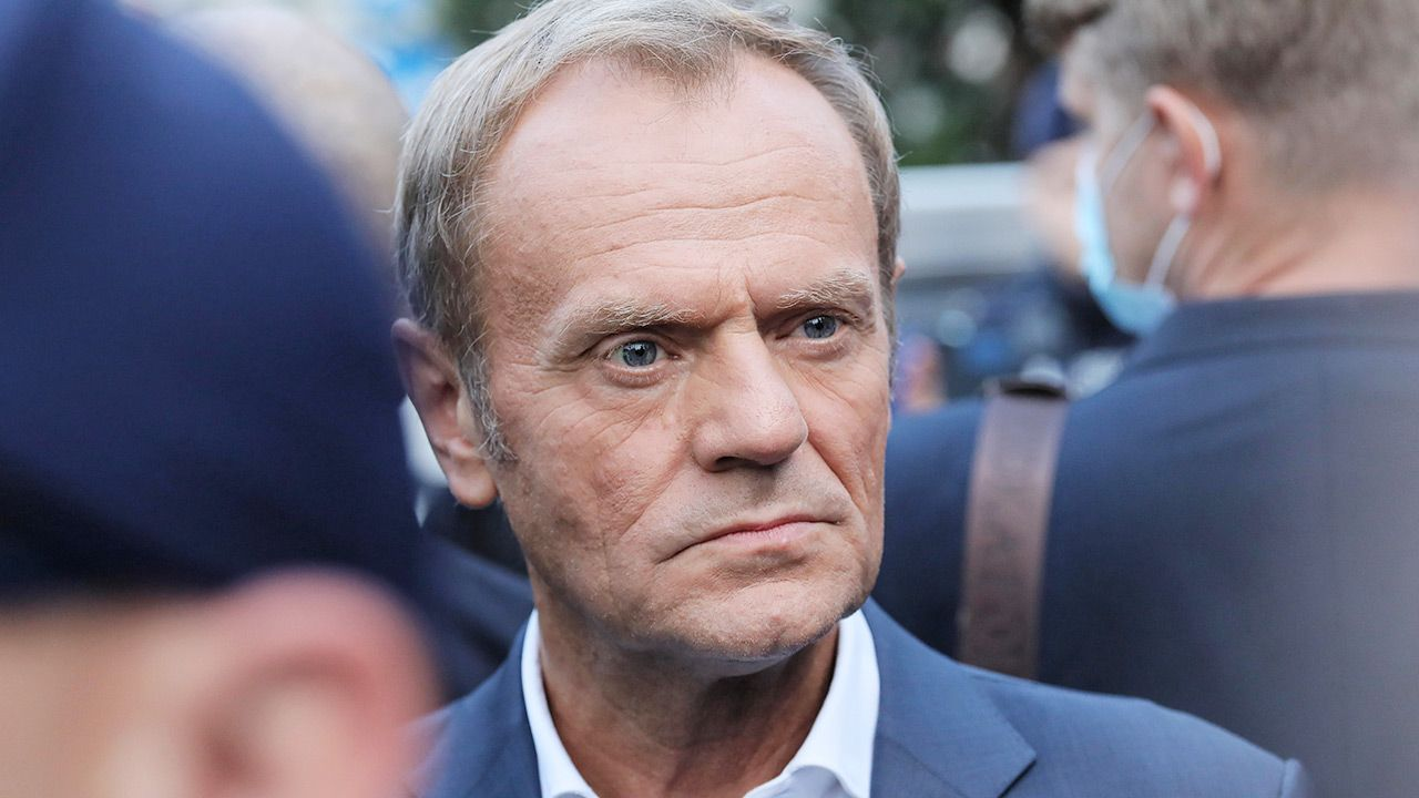 Donald Tusk (fot.  PAP/Paweł Supernak)