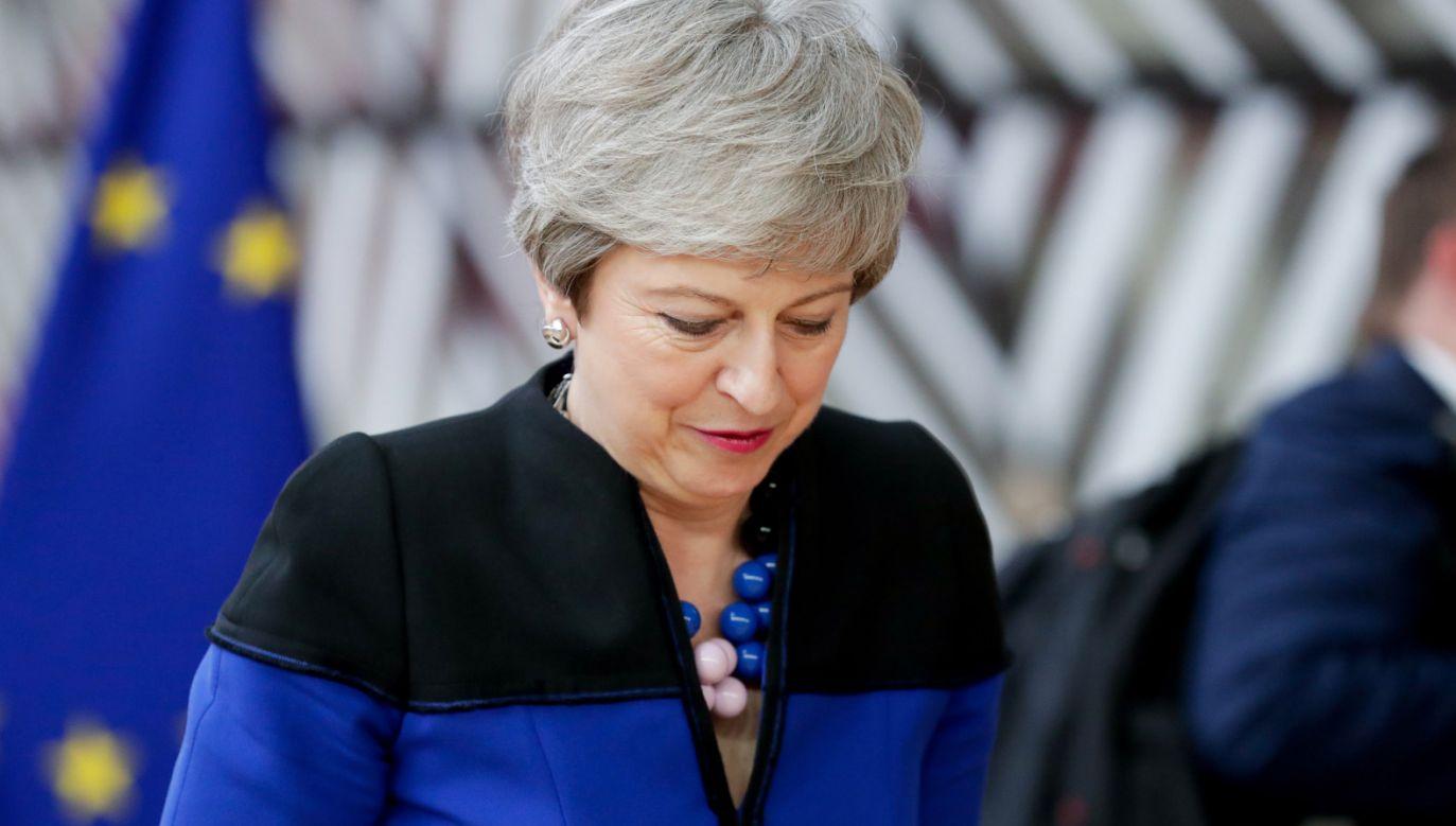 Choć 7 czerwca Theresa May ustąpiła ze stanowiska, do czasu wyłonienia następcy pozostaje szefową rządu i pełniącą obowiązki szefa Partii Konserwatywnej (PAP/EPA/STEPHANIE LECOCQ)