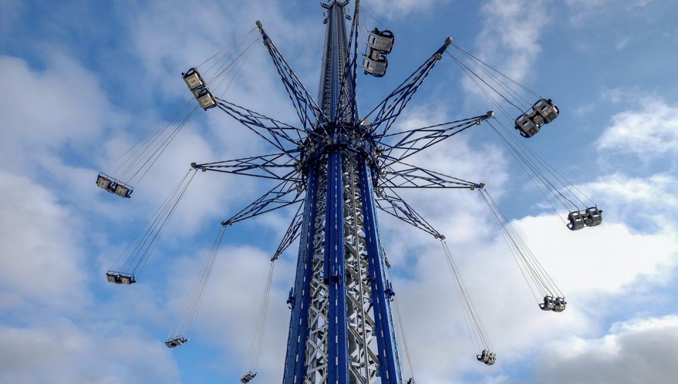 W chwili wypadku pracownik znajdował się na wysokości ok. 60 metrów (fot. Shutterstock/Dolores M. Harvey)
