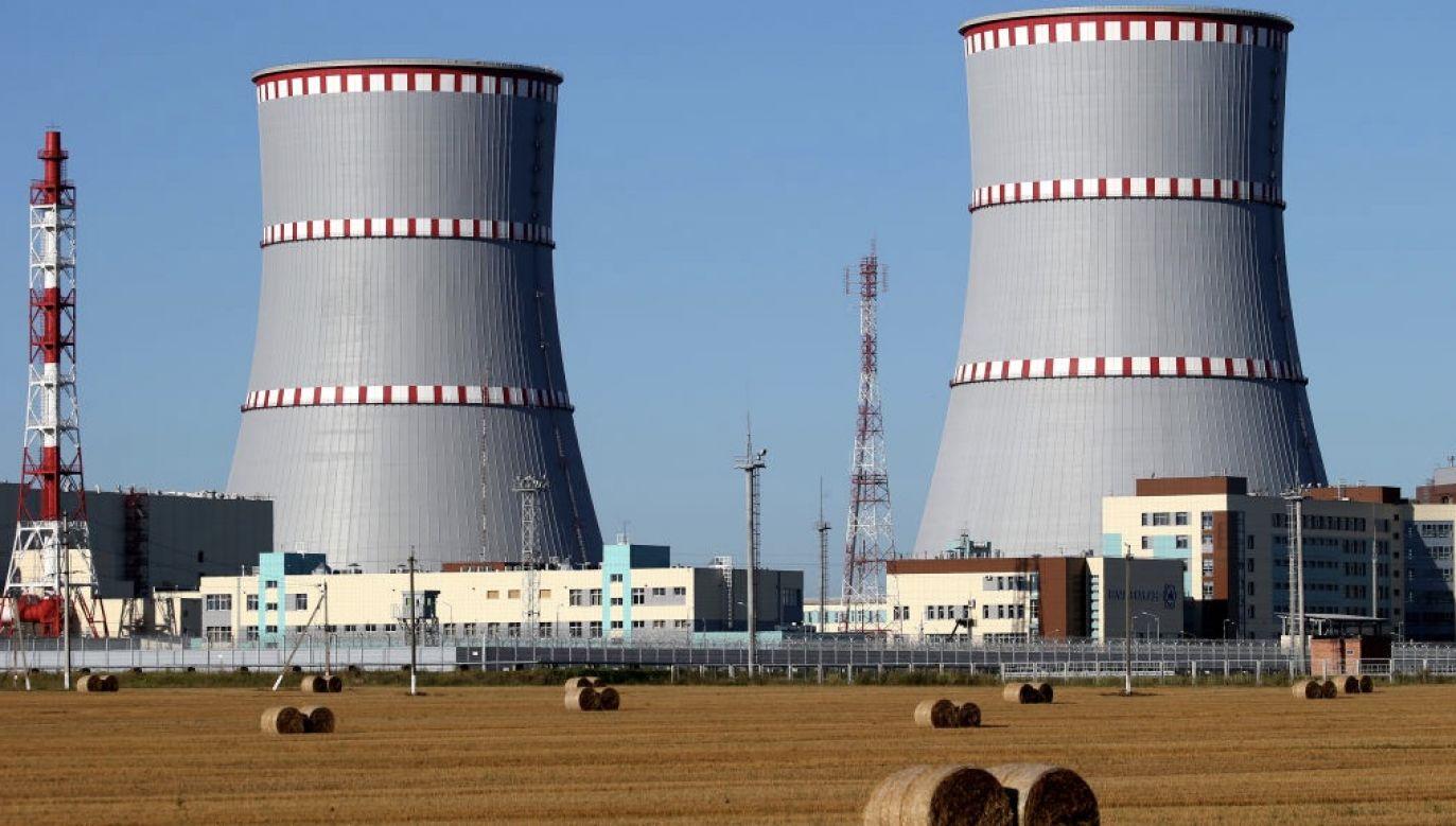 Pierwszy blok elektrowni ma zacząć działać w przyszłym roku (fot. Natalia Fedosenko\TASS via Getty Images)
