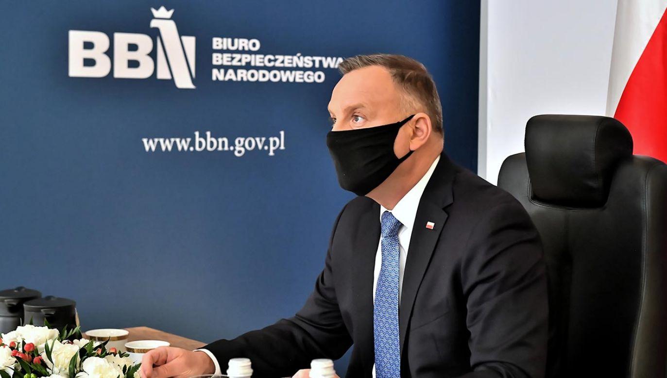 Posiedzenie Rady Gabinetowej zwołał prezydent Duda (fot. PAP/Andrzej Lange)