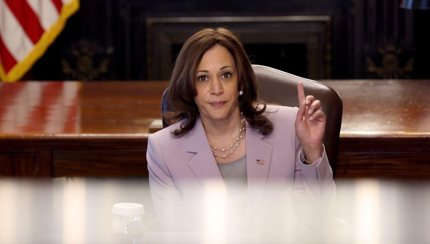 Wiceprezydent USA Kamala Harris (fot. Win McNamee/Getty Images)