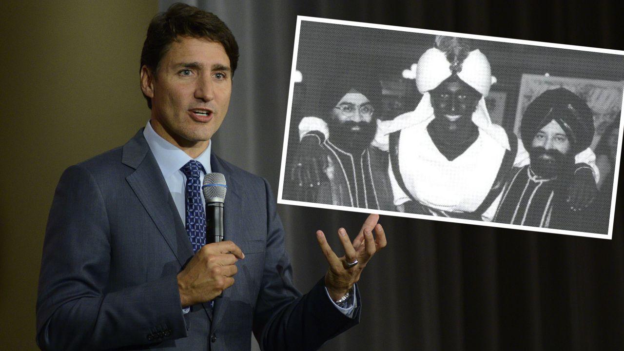 Premier Kanady Justin Trudeau przeprosił osoby urażone jego dawnymi zdjęciami (fot. Arindam Shivaani/NurPhoto via Getty Images/West Point Grey Academy)