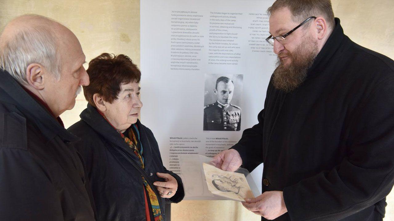 W czasie pobytu w obozie rtm. Pilecki opracował raport o ludobójstwie i zorganizował konspiracyjny Związek Organizacji Wojskowych (fot. tt/@AuschwitzMuseum)