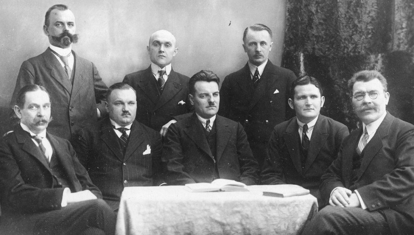 Działacze Związku Polaków w Niemczech, Berlin, lata  1925 - 1939 (fot. NAC)